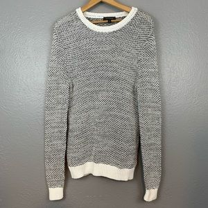 Express Crew Neck Pullover Knit Sweater